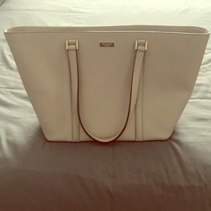 ♠️ Kate Spade Beige Leather Bag ♠️